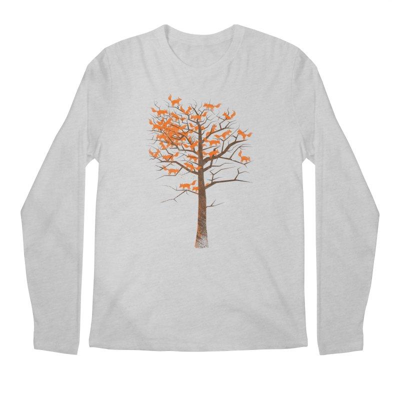 Blazing Fox Tree Men's Longsleeve T-Shirt by 38 Sunsets