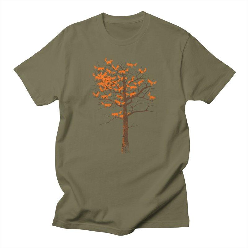 Blazing Fox Tree Women's Unisex T-Shirt by 38 Sunsets