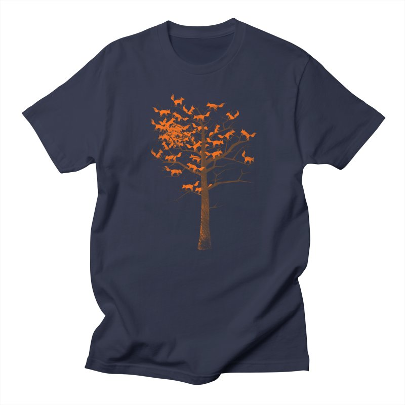 Blazing Fox Tree Women's Regular Unisex T-Shirt by 38 Sunsets