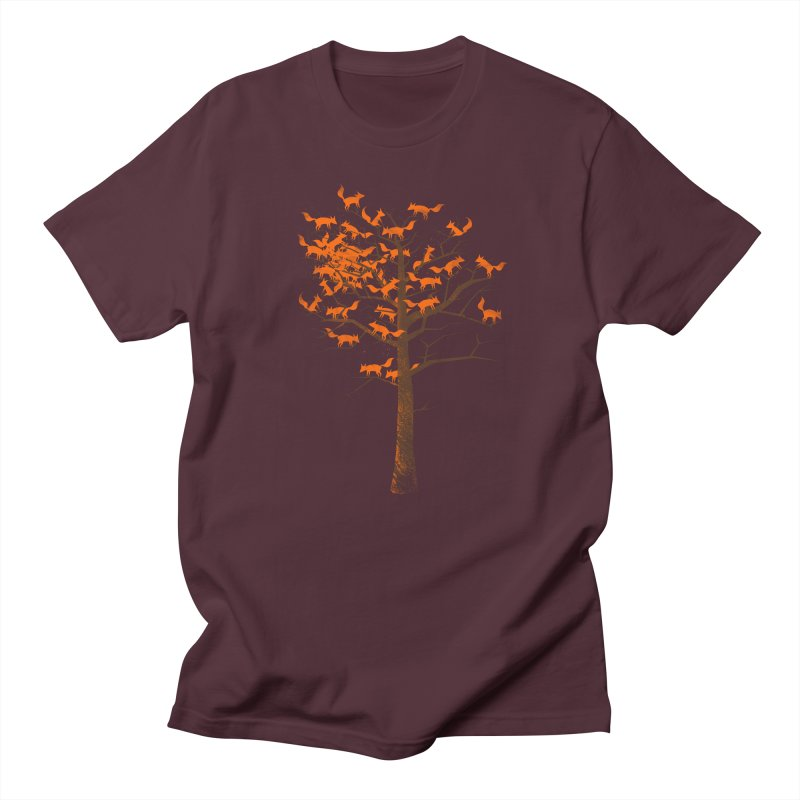 Blazing Fox Tree Women's Regular Unisex T-Shirt by 38 Sunsets