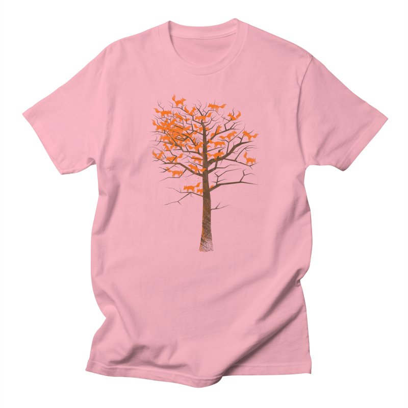 Blazing Fox Tree Women's Unisex T-Shirt by 38 Sunsets
