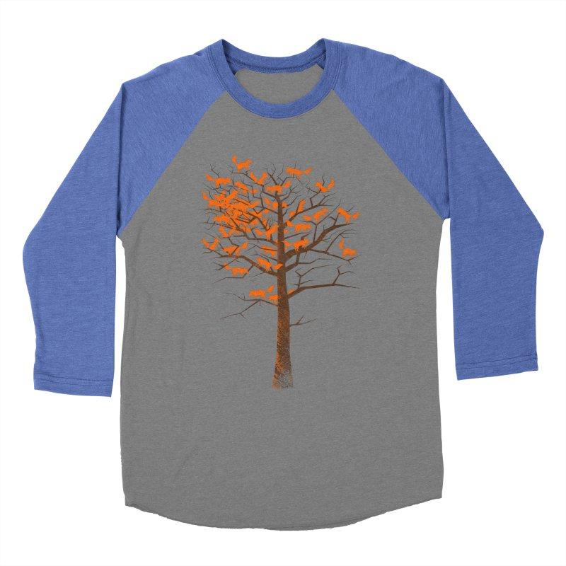 Blazing Fox Tree Women's Baseball Triblend Longsleeve T-Shirt by 38 Sunsets