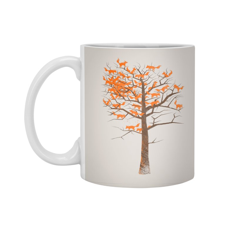 Blazing Fox Tree Accessories Mug by 38 Sunsets