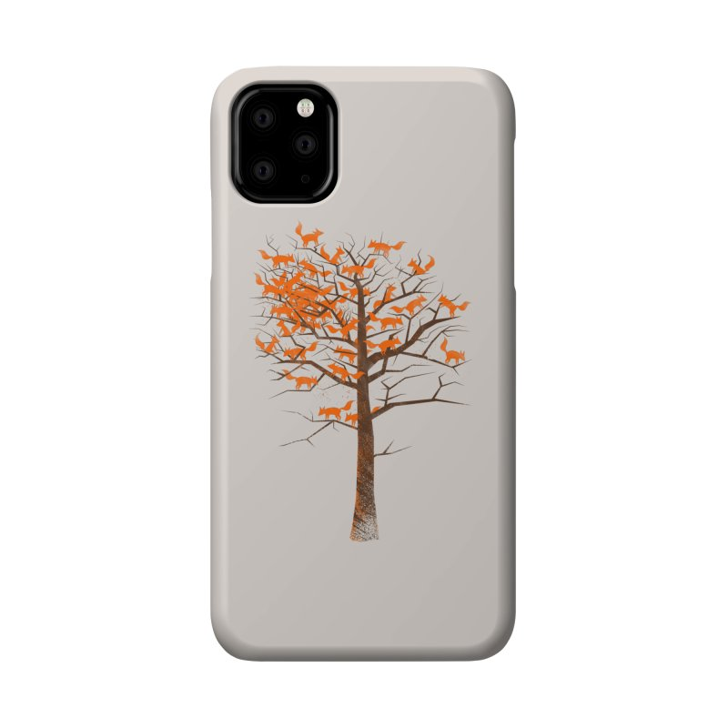 Blazing Fox Tree Accessories Phone Case by 38 Sunsets
