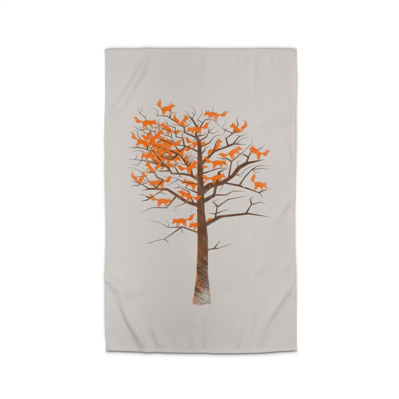 Blazing Fox Tree Home Rug by 38 Sunsets