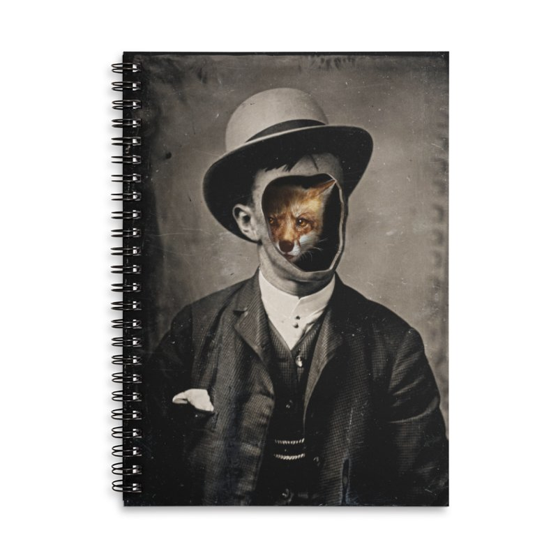 Gentleman Fox Accessories Notebook by 38 Sunsets