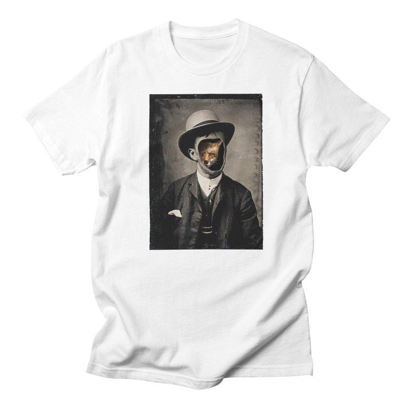 Gentleman Fox Men's Regular T-Shirt by 38 Sunsets