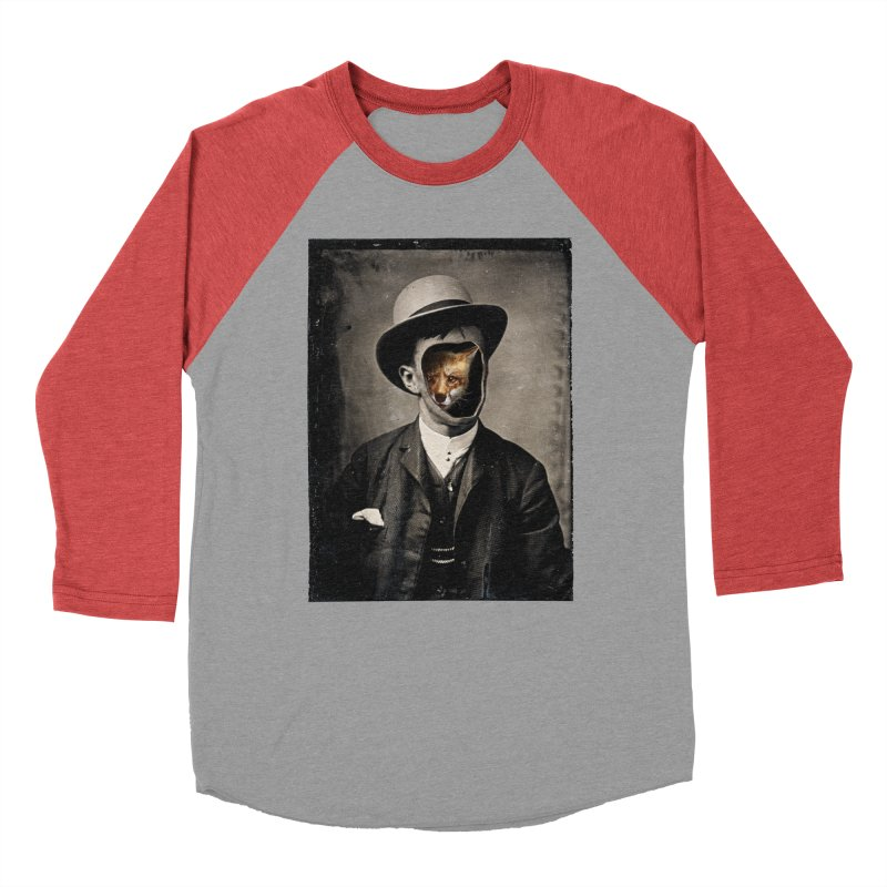 Gentleman Fox Women's Baseball Triblend Longsleeve T-Shirt by 38 Sunsets
