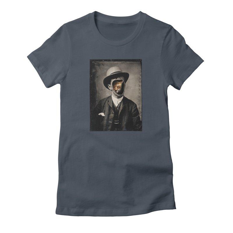 Gentleman Fox Women's T-Shirt by 38 Sunsets