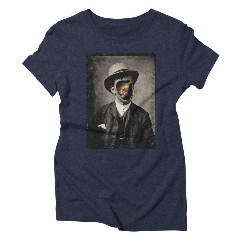 Gentleman Fox Women's Triblend T-Shirt by 38 Sunsets