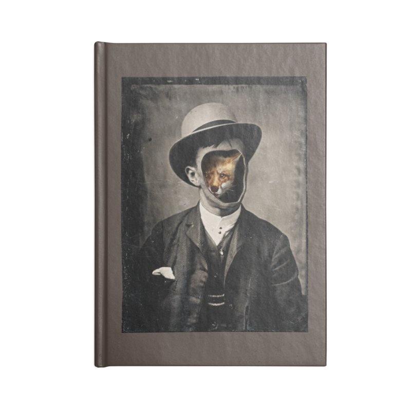 Gentleman Fox Accessories Lined Journal Notebook by 38 Sunsets