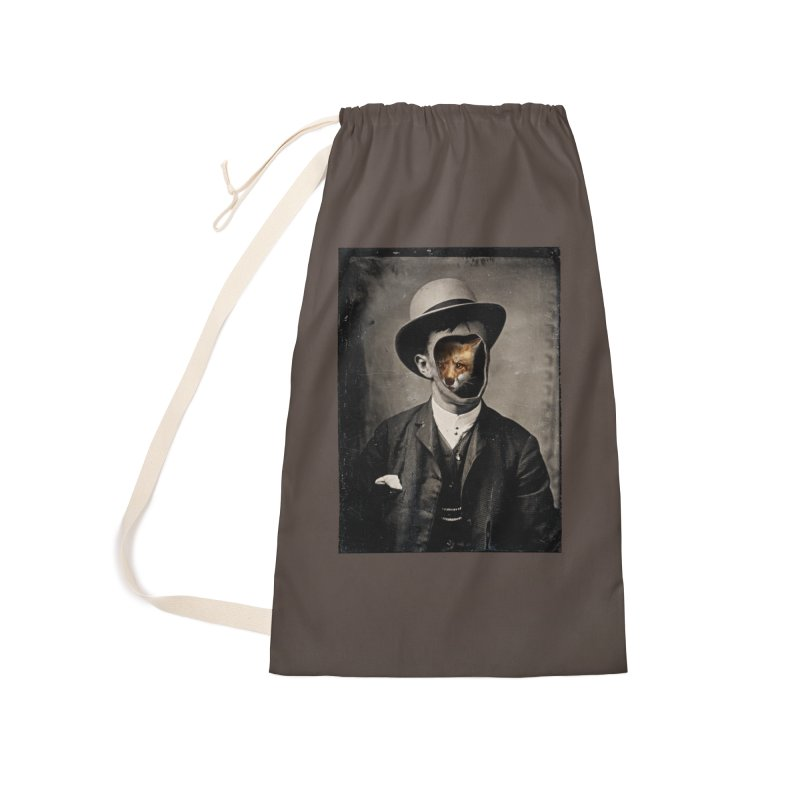 Gentleman Fox Accessories Laundry Bag Bag by 38 Sunsets