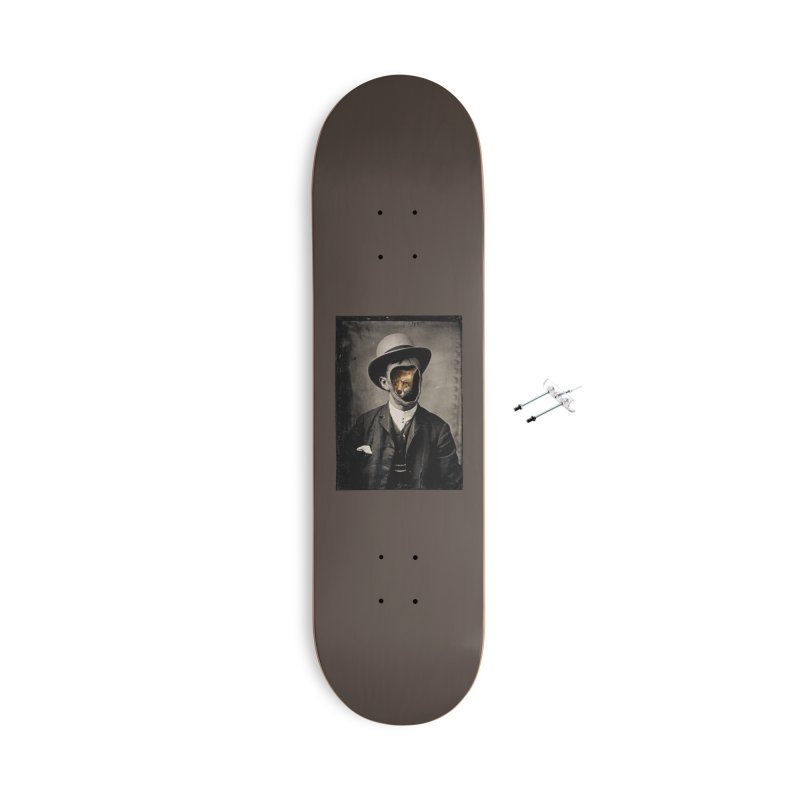 Gentleman Fox Accessories Skateboard by 38 Sunsets