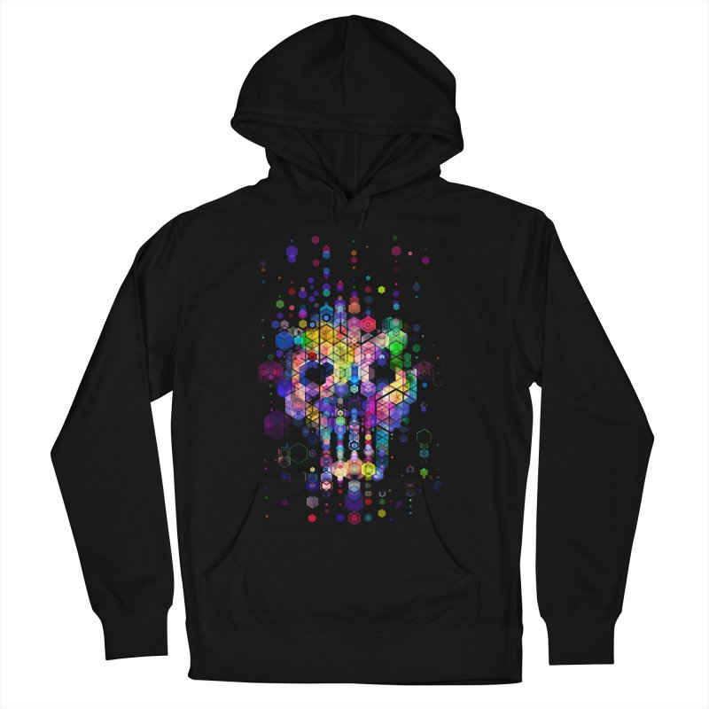 Monstrously Colorful Elementary Particles Women's French Terry Pullover Hoody by 38 Sunsets
