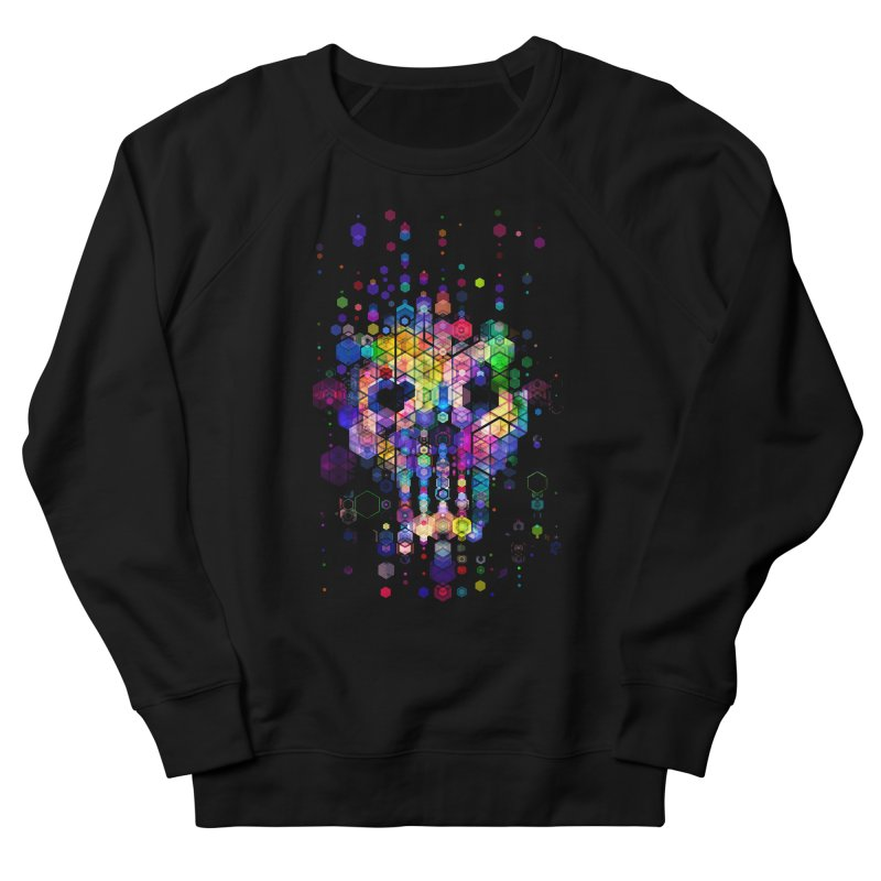 Monstrously Colorful Elementary Particles Men's French Terry Sweatshirt by 38 Sunsets