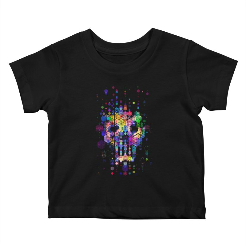 Monstrously Colorful Elementary Particles Kids Baby T-Shirt by 38 Sunsets