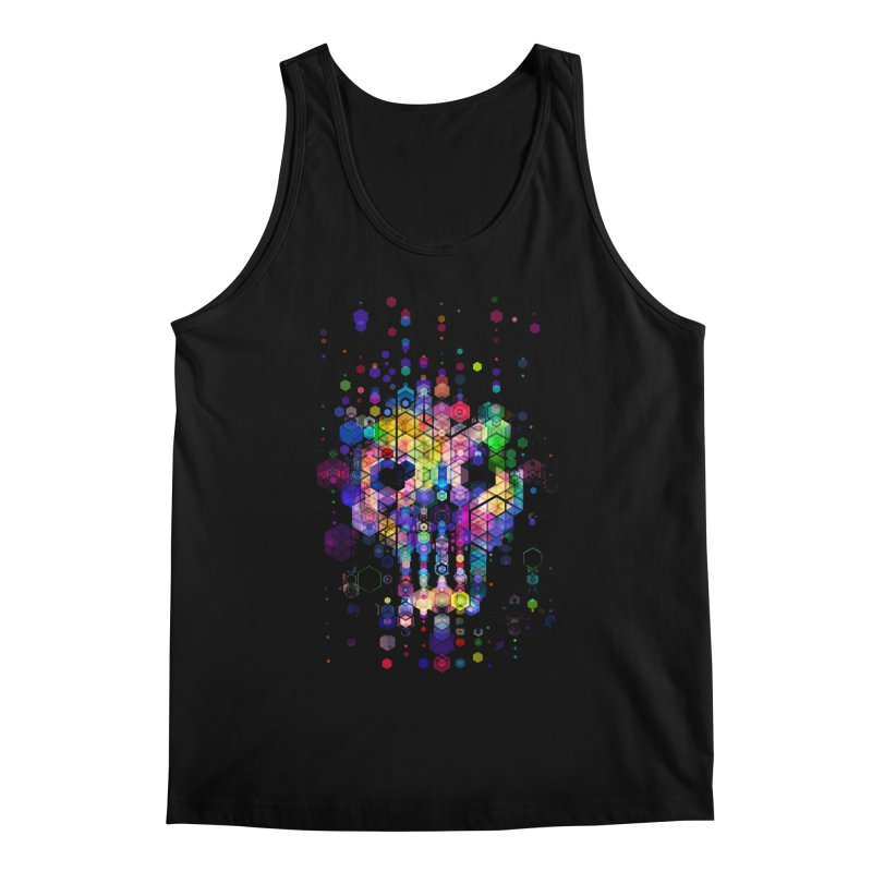 Monstrously Colorful Elementary Particles Men's Tank by 38 Sunsets