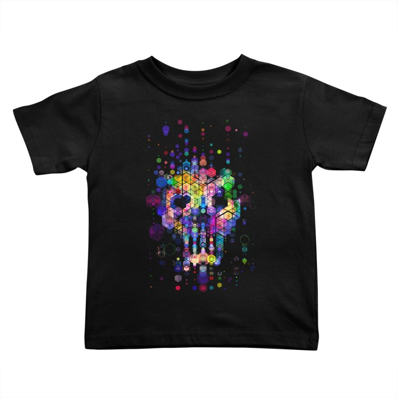 Monstrously Colorful Elementary Particles Kids Toddler T-Shirt by 38 Sunsets