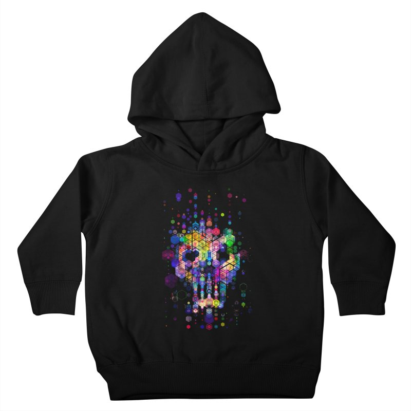 Monstrously Colorful Elementary Particles Kids Toddler Pullover Hoody by 38 Sunsets