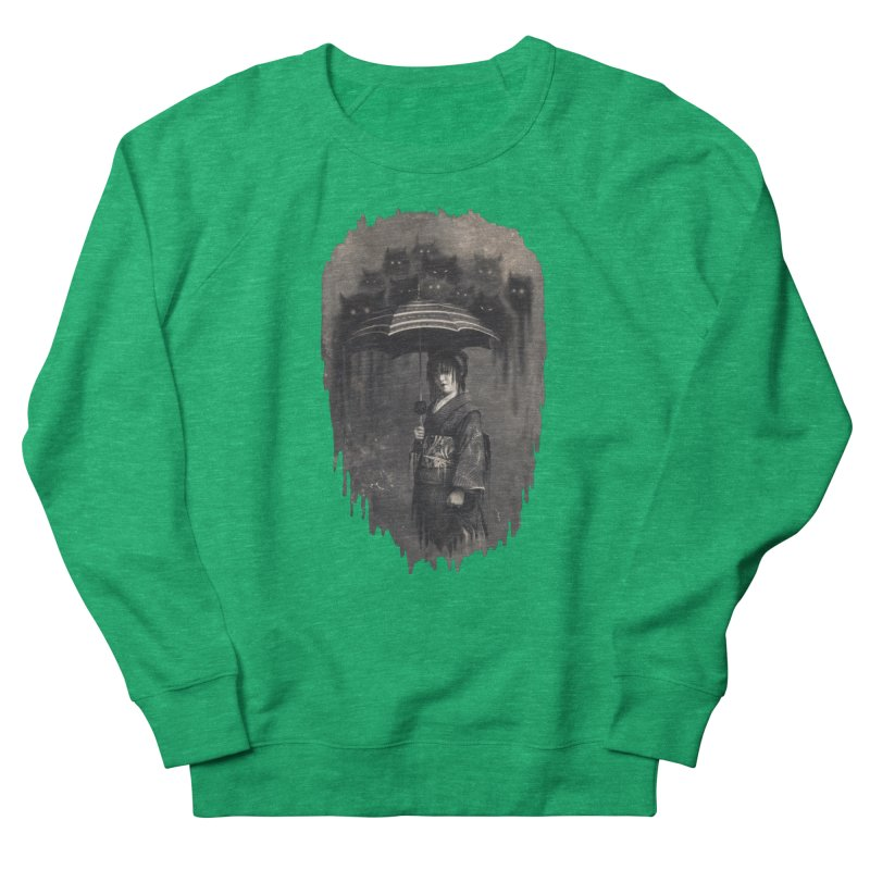 Lady Rain Women's Sweatshirt by 38 Sunsets