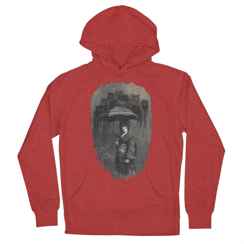 Lady Rain Women's French Terry Pullover Hoody by 38 Sunsets