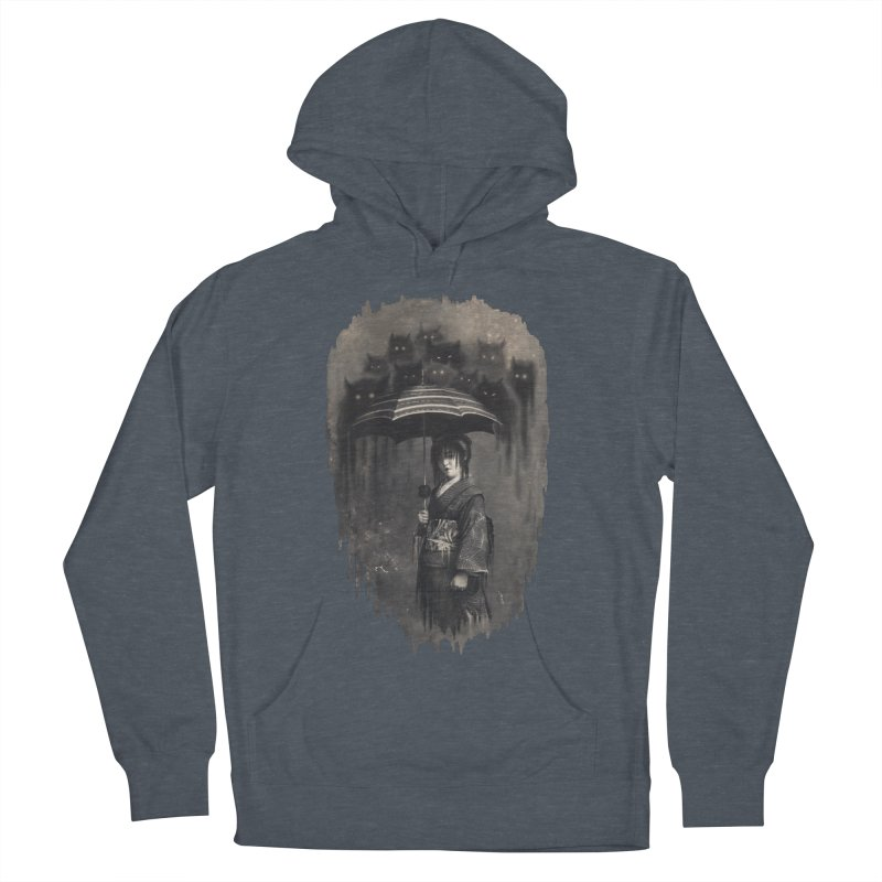 Lady Rain Men's Pullover Hoody by 38 Sunsets