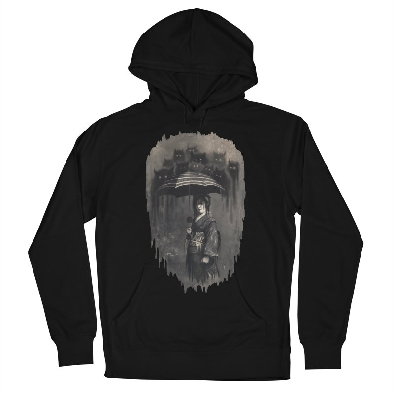 Lady Rain Men's French Terry Pullover Hoody by 38 Sunsets