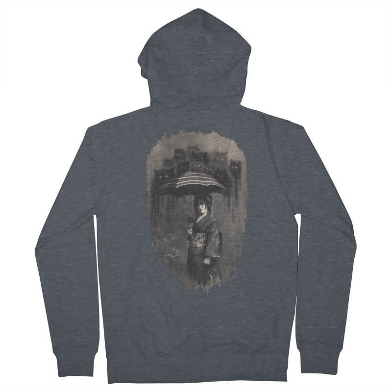 Lady Rain Women's French Terry Zip-Up Hoody by 38 Sunsets