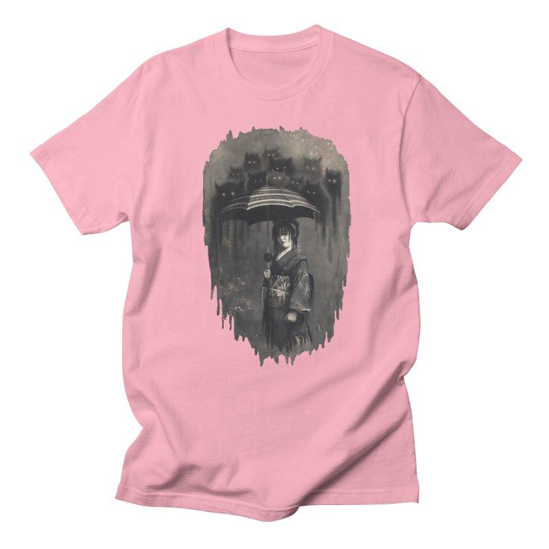 Lady Rain Men's Regular T-Shirt by 38 Sunsets