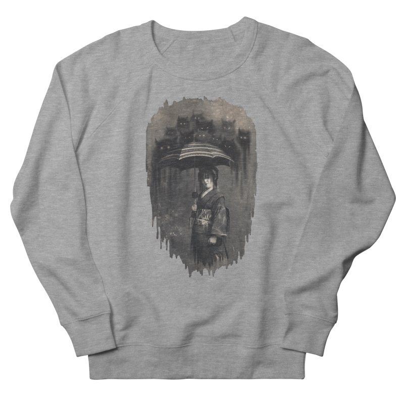 Lady Rain Men's French Terry Sweatshirt by 38 Sunsets