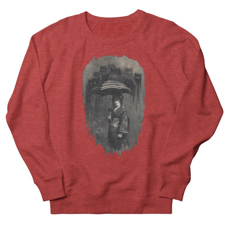 Lady Rain Men's Sweatshirt by 38 Sunsets