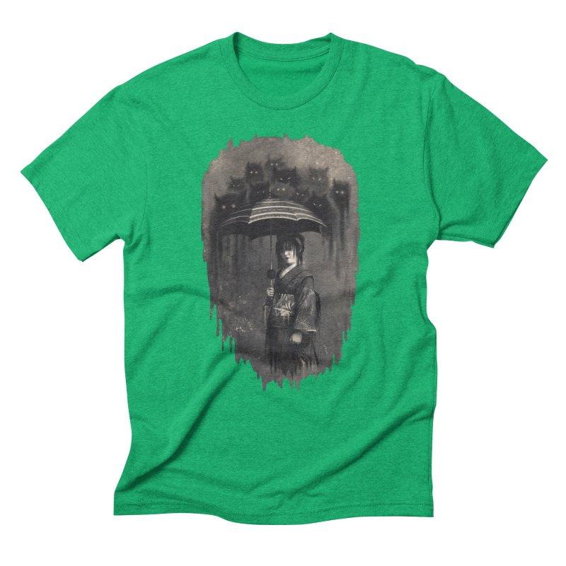 Lady Rain Men's Triblend T-Shirt by 38 Sunsets