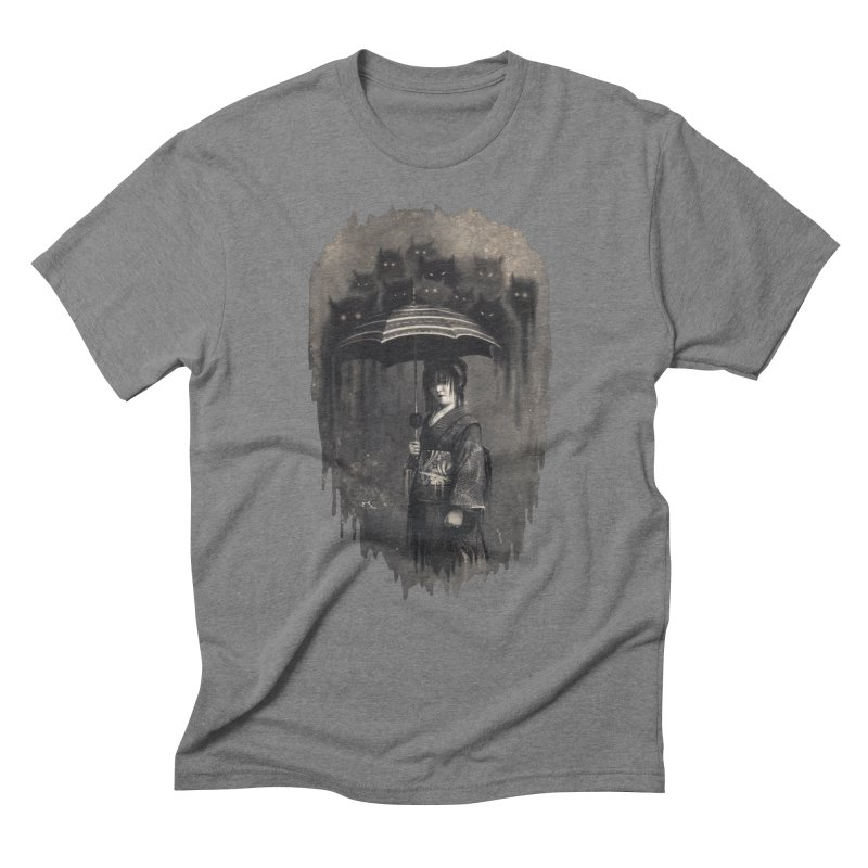 Lady Rain Men's Triblend T-Shirt by 38 Sunsets