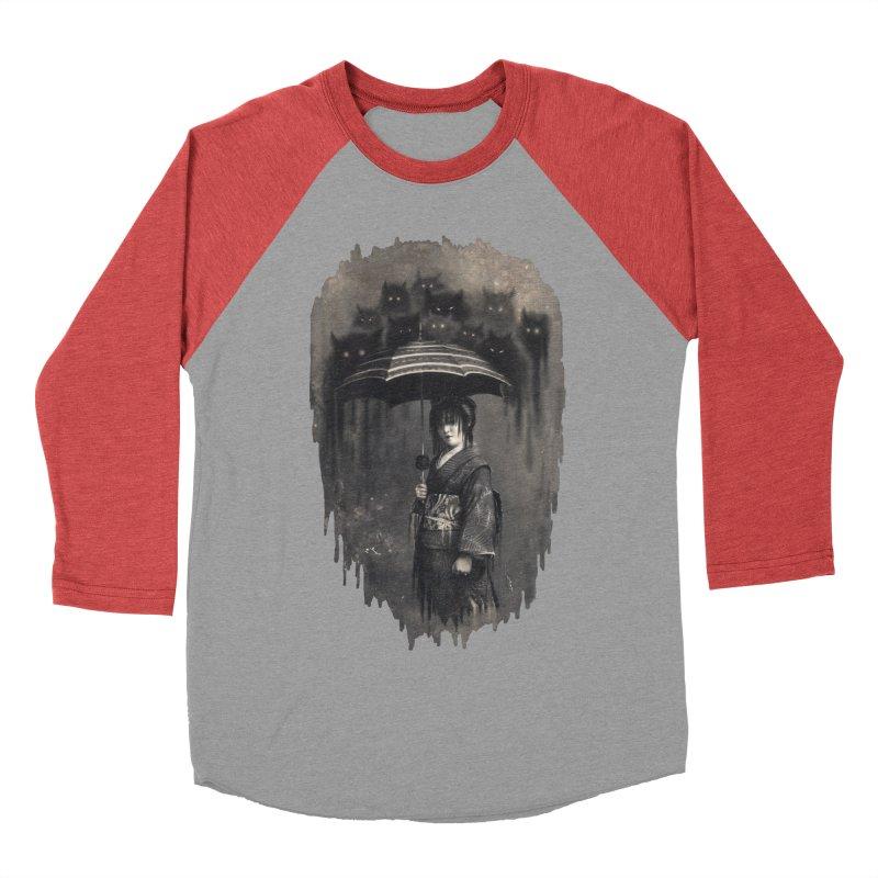 Lady Rain Women's Baseball Triblend T-Shirt by 38 Sunsets