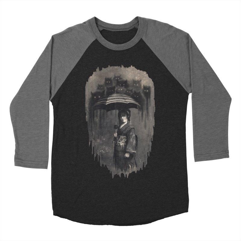 Lady Rain Men's Baseball Triblend T-Shirt by 38 Sunsets