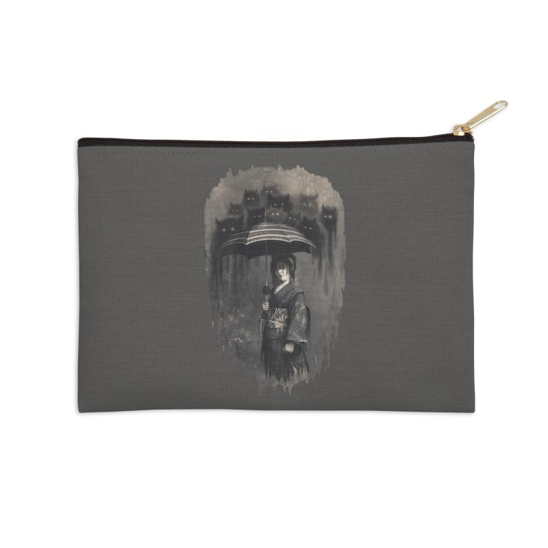 Lady Rain Accessories Zip Pouch by 38 Sunsets