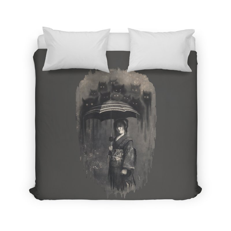 Lady Rain Home Duvet by 38 Sunsets