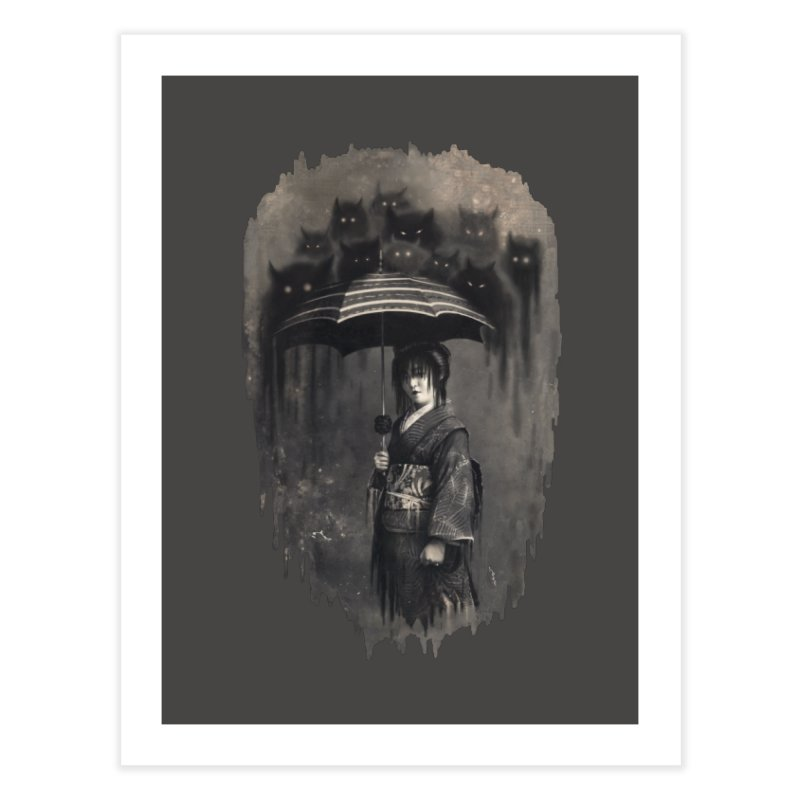 Lady Rain Home Fine Art Print by 38 Sunsets