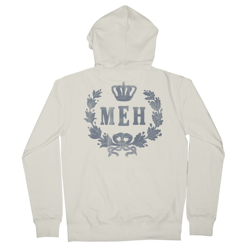 Le Royal Meh Women's French Terry Zip-Up Hoody by 38 Sunsets