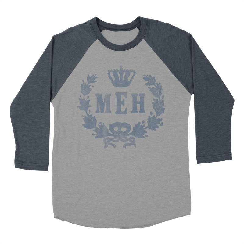 Le Royal Meh Women's Baseball Triblend T-Shirt by 38 Sunsets
