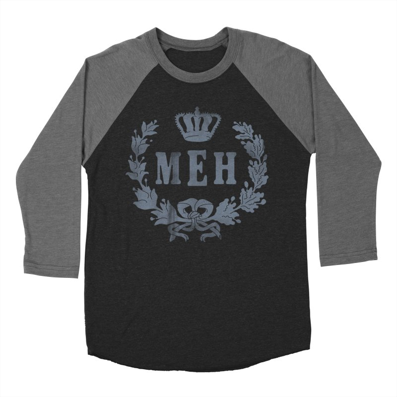 Le Royal Meh Men's Baseball Triblend Longsleeve T-Shirt by 38 Sunsets