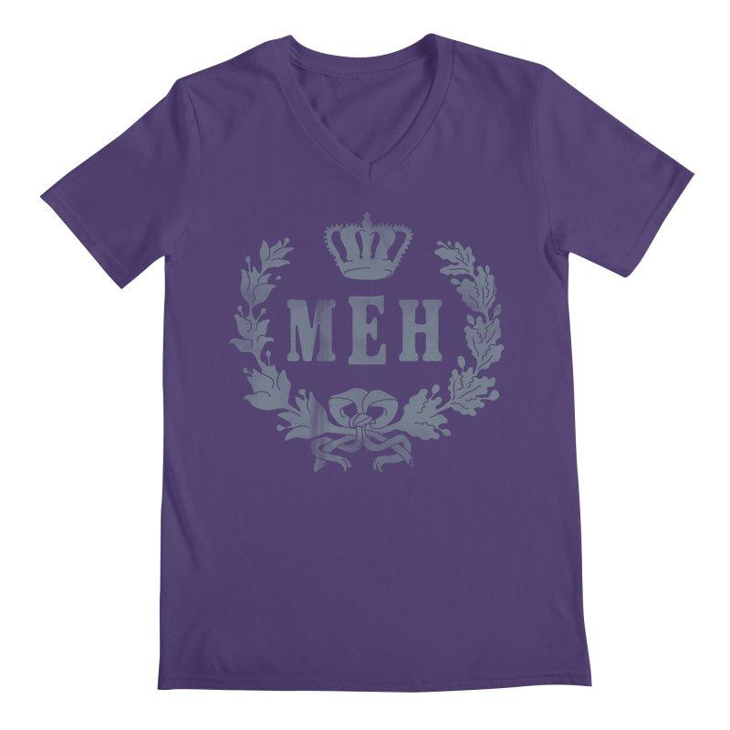 Le Royal Meh Men's V-Neck by 38 Sunsets