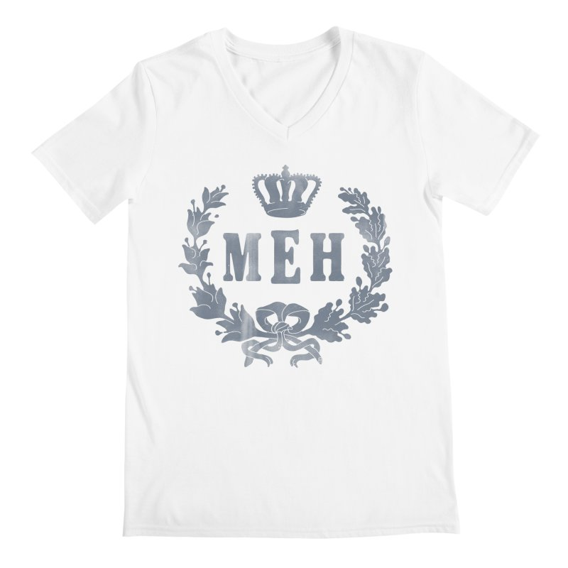 Le Royal Meh Men's Regular V-Neck by 38 Sunsets