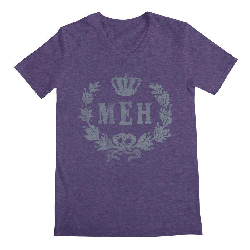 Le Royal Meh Men's Regular V-Neck by 38 Sunsets