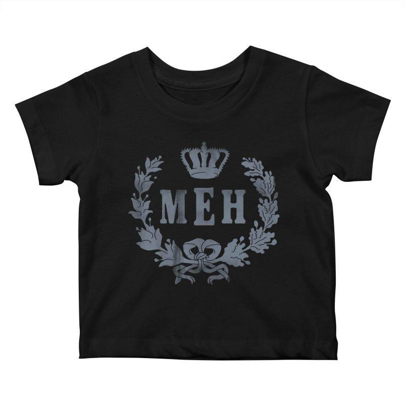 Le Royal Meh Kids Baby T-Shirt by 38 Sunsets