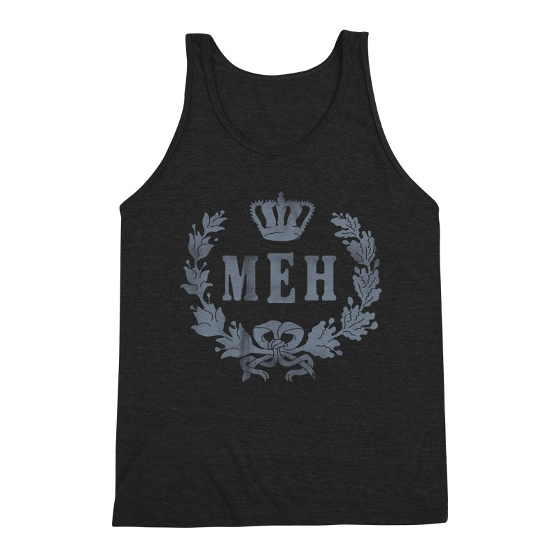 Le Royal Meh Men's Triblend Tank by 38 Sunsets