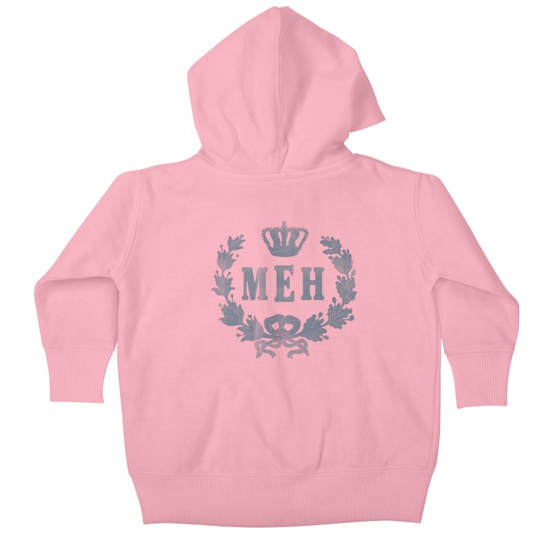 Le Royal Meh Kids Baby Zip-Up Hoody by 38 Sunsets