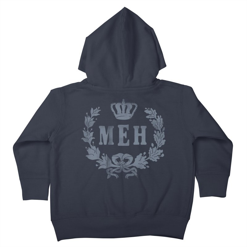 Le Royal Meh Kids Toddler Zip-Up Hoody by 38 Sunsets