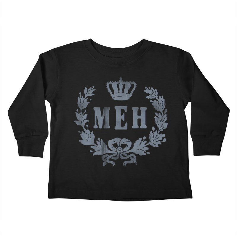 Le Royal Meh Kids Toddler Longsleeve T-Shirt by 38 Sunsets