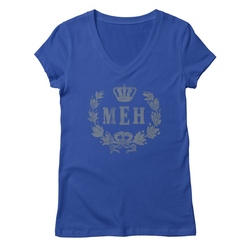Le Royal Meh Women's V-Neck by 38 Sunsets